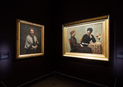 Fantin Latour. À fleur de peau, Musée du Luxembourg, Paris 2016-2017, scénographie Etienne Lefrançois & Emmanuelle Garcia