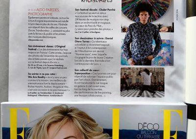 Portrait by Elle Magazine