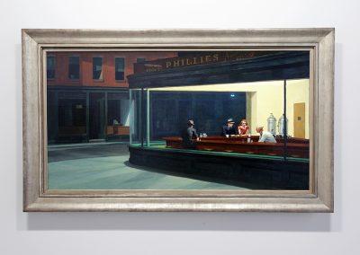 Edward Hopper, Grand Palais, Paris 2012-2013
